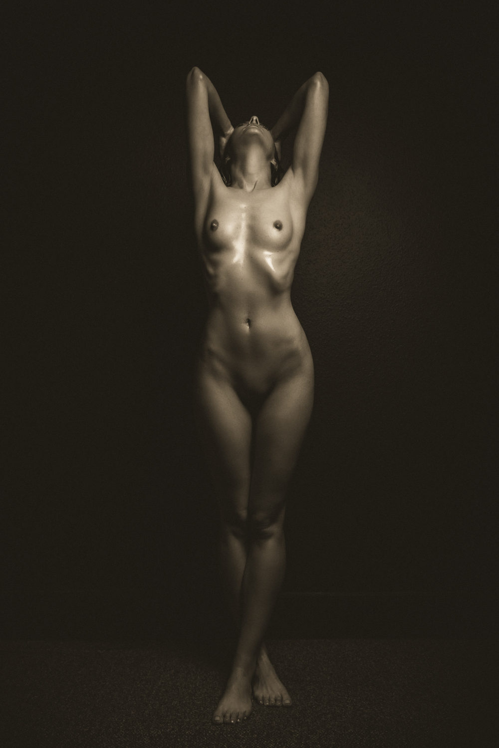 full body nude fine art